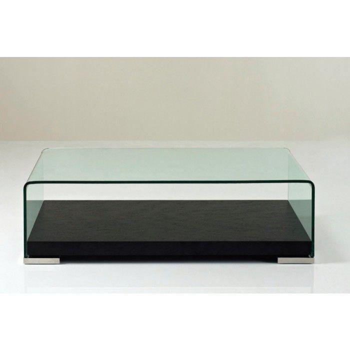 Aquarium Modern Glass Coffee Table