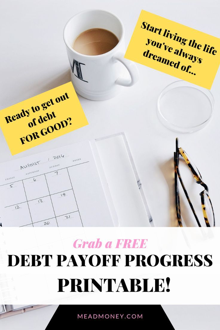 Grab your free debt payoff plan printable today! W…