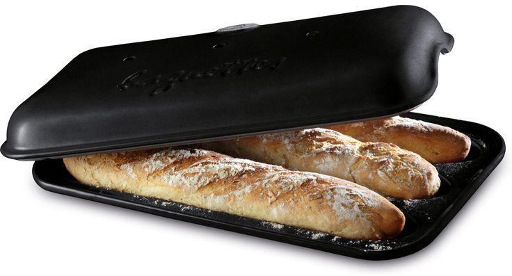 Emile Henry - Baguetteform med låg #inspirationdk #baking #bagning