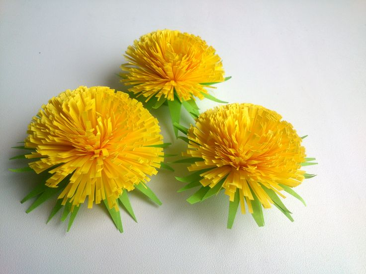 How to make  Quilling Flower: Quilling Dandelion -Paper Art Quilling.