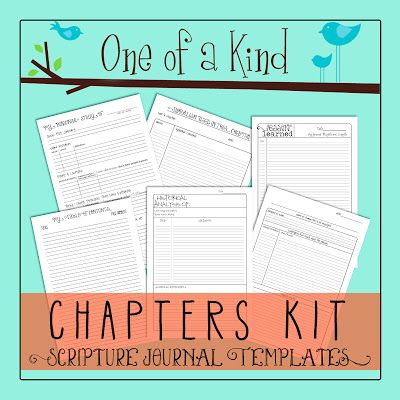 Scripture Journal Tutorial: Part 2- Studying By Chapters