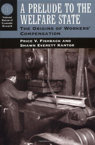 Workers' compensation was arguably the first widespread social insurance program in the United States and the most successful form of labor legislation to emerge from the early Progressive Movement. Adopted in most states between 1910 and 1920, workers' compensation laws have been... more details available at https://insurance-books.bestselleroutlets.com/liability-insurance/product-review-for-a-prelude-to-the-welfare-state-the-origins-of-workers-compensation-nationa