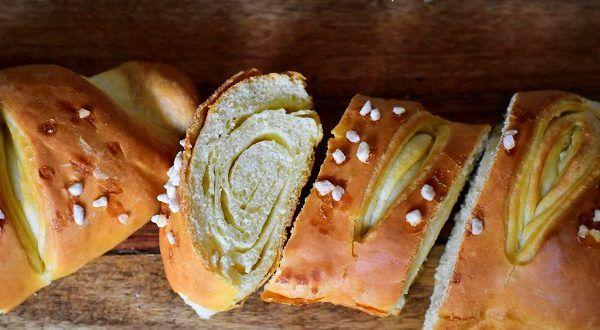 Baguette tourbillon briochée   Le Blog cuisine de Samar