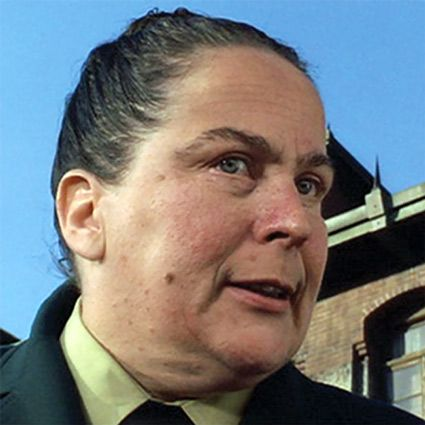Throw a housecoat on Mrs. Trunchbull and you have Auntie Gerta!