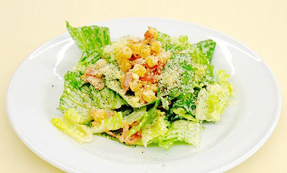 ドレッシングを手作り!シーザーサラダの基本レシピのページです。キユーピーのサラダの基本のレシピでは、ポテトサラダやかぼちゃサラダ、ごぼうサラダなど、人気サラダの基本的な作り方を教えます。