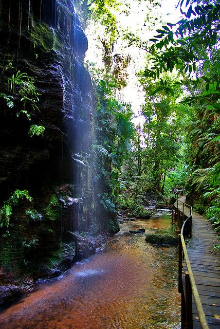Cachoeiras da Pedra Caida in Maranhão, Brazil (by deltafrut). #SummerReads #PenguinTeen