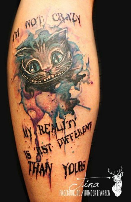 50 Ideas Tattoo Disney Sleeve Ideas Cheshire Cat Tattoo