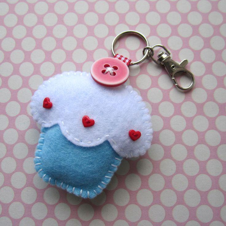 cute little blueberry cupcake