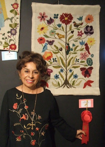 Colcha embroidery by Julia Gomez
