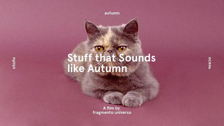 Stuff that Sounds like Autumn