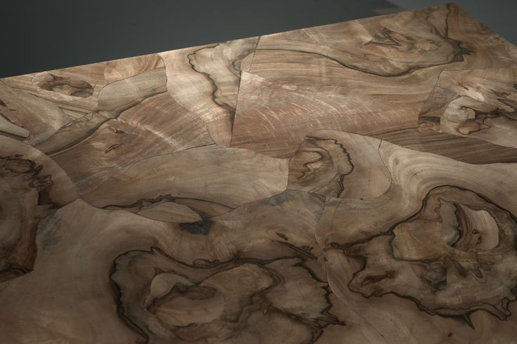 """detail, Walnut burl composition. The Élite Prestige #wood #panel can be supplied in its """"centered"""" (symmetric) version or """"palladian"""" (irregular but classical """"incertum opus""""). This makes the #parquet a unique work of #art. #madeinitaly #interior #design #home #classical #walnut #burl"""