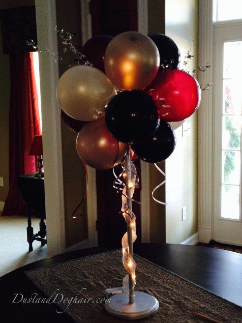 DIY Balloon Topiary