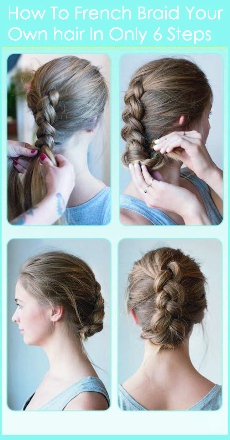 Fancy French braids Want to know how to french braid your ...