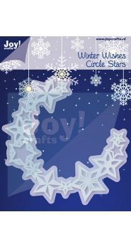 6002/2042 Cutting & Embossing stencil - star border