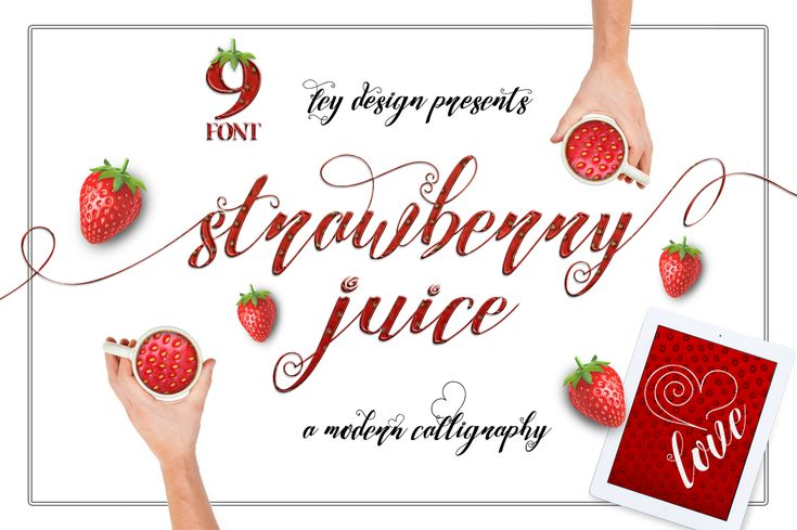 Strawberry Family by feydesign on @creativemarket
