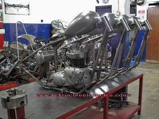 RETROSYNDICATE: Triumph chopper kit overseas order, ready to expor...