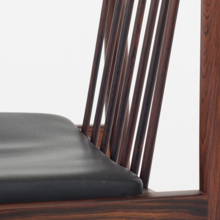 Dining chair in rosewood