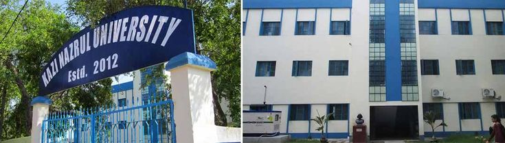 Kazi Nazrul University is a Public University situated at Asansol, West Bengal in 2012. This University has been named after the great poet Kazi Nazrul Islam.