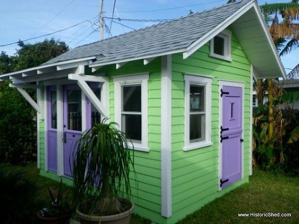 custom artist studio shed - Garden Sheds Eugene Oregon