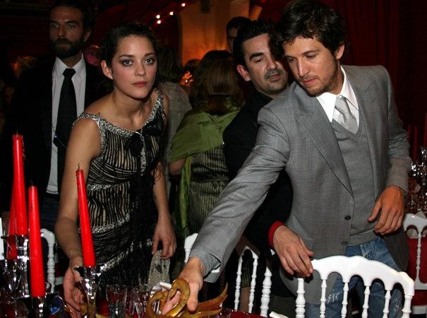 guillaume canet marion cotillard au festival du film romantique de Cabourg