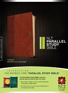 NLT Parallel Study Bible: TuTone by Tyndale. Save 50 Off!. $37.49. Publisher: Tyndale House Bibles (October 12, 2012). Publication: October 12, 2012. Series - Nlt
