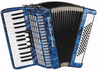 Self-taught on my mother's accordion & still have in storage