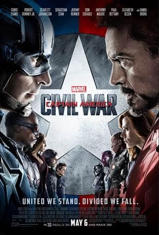 Captain America: Civil War Opens Nationwide Today