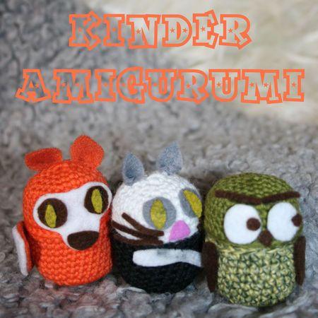 17 mejores imagenes sobre crochet kinder egg en Pinterest ...