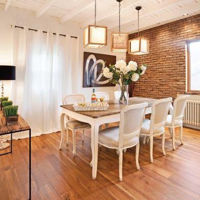 les 25 meilleures id es de la cat gorie salle manger shabby chic sur pinterest salon chic. Black Bedroom Furniture Sets. Home Design Ideas