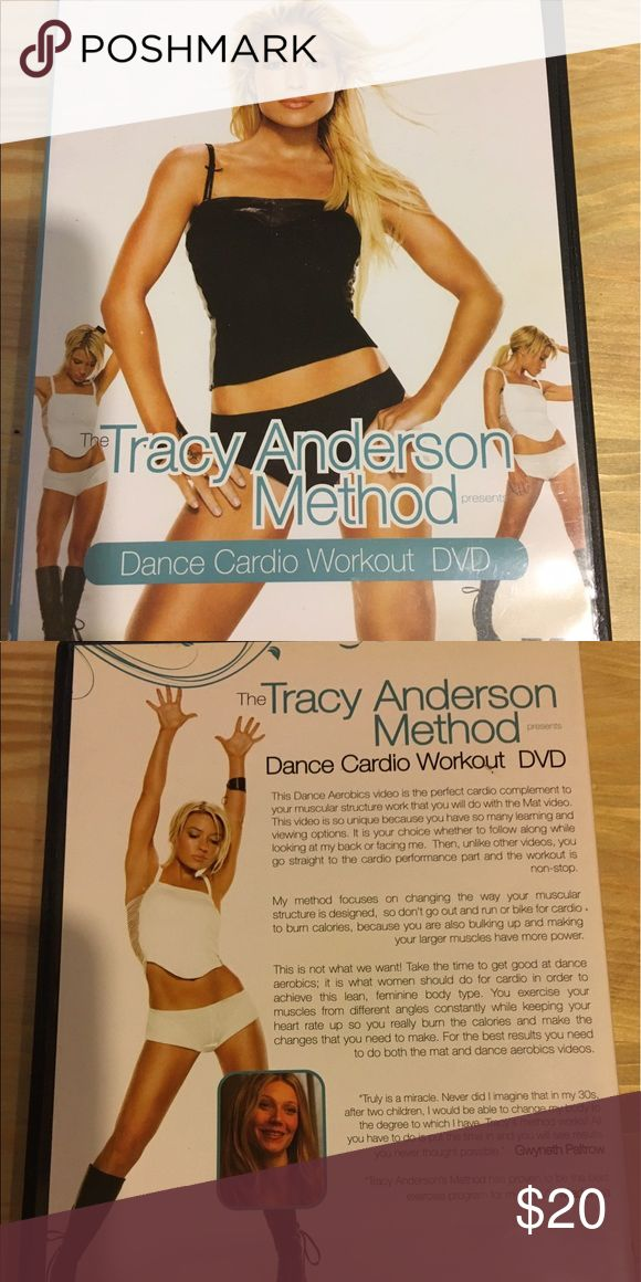 Tracy Anderson Method Dance Cardio Workout DVD Great cardio dance workout (she will kill you). Great condition, only used a few times before I bought her Metamorphosis Series. Other