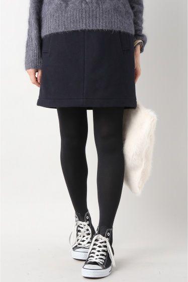 メルトン ダイケイスカート  メルトン ダイケイスカート 9720 2016AW SLOBE IENA ベーシックな台形スカートはどんなトップスとも合わせやすいデザイン ブラウスやハイゲージのニットをインしたりざっくりニットと合わせて裾から覗かせるスタイリングも可愛いです メルトン素材なのでしっかりとした生地感で保温性も高いのが特徴 女性らしいきれいめな印象で大人フェミニンなスタイルに仕上げてくれます 取り扱いについては商品についている品質表示でご確認ください こちらの商品はSLOBE IENAでの取り扱いになります 直接店舗へお問い合わせの際はSLOBE IENA店舗へお願い致します モデルサイズ:身長:161cm バスト:80cm ウェスト:58cm ヒップ:88cm 着用サイズ:36