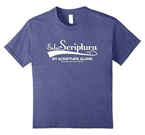 Sola Scriptura 5 Solas Christian T-shirt