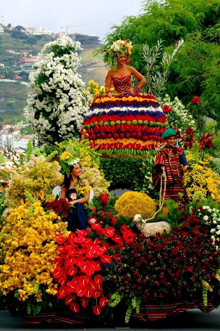 """Ilha da MADEIRA """"Festa da FLOR"""" - PORTUGAL"""