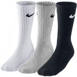 Nike SX4508 3PPK Value Cotton Crew Çorap