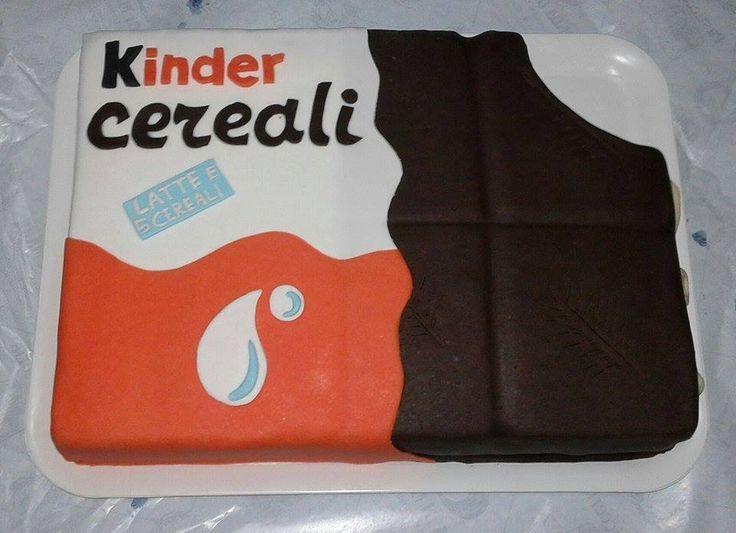 Cake Kinder Cereali