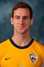 """Nathan Page is a 5'11"""" midfielder from Norwich, England. He attended Taverham High School and played his youth soccer at Norwich United F.C."""