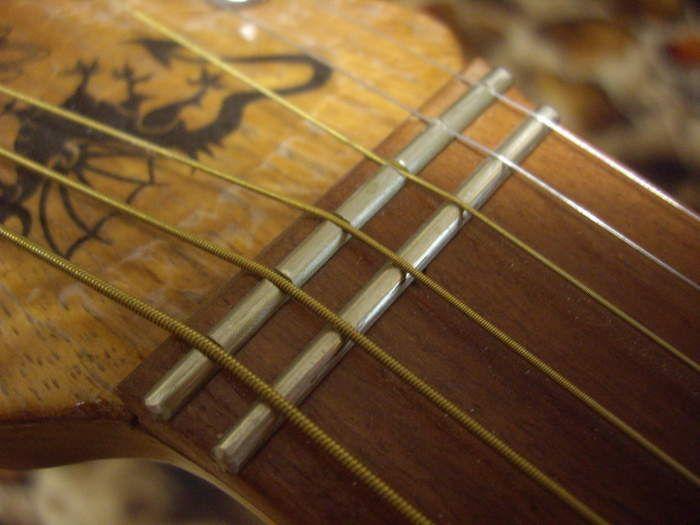Zero Fret With Guide Fret Guitar Design Guitar Building Cigar Box Guitar