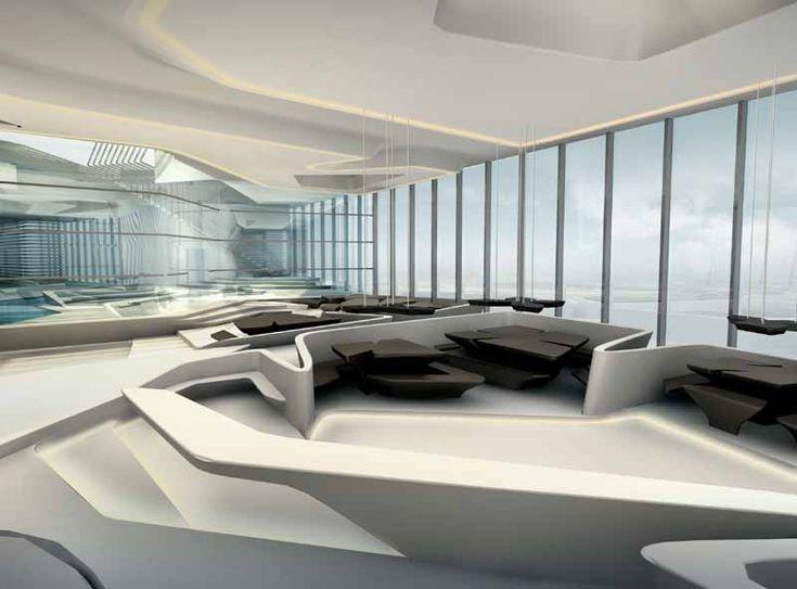 Deconstructivism Furniture Interior Design ~ Zaha hadid interior recherche google en