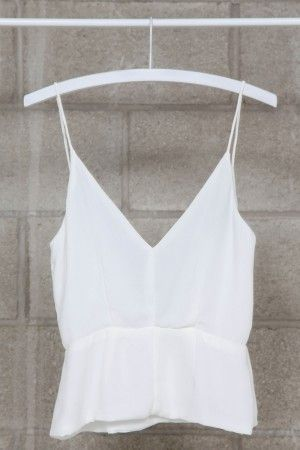 i already have so many white/cream tank tops, but it'll never get old