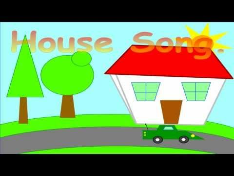 Learn Home/House Vocabulary! - My Home (Phrases 1) - ELF Kids Videos - YouTube