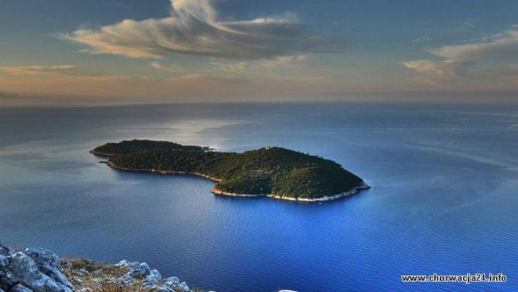 Wyspa Lokrum naprzeciw Dubrovnika