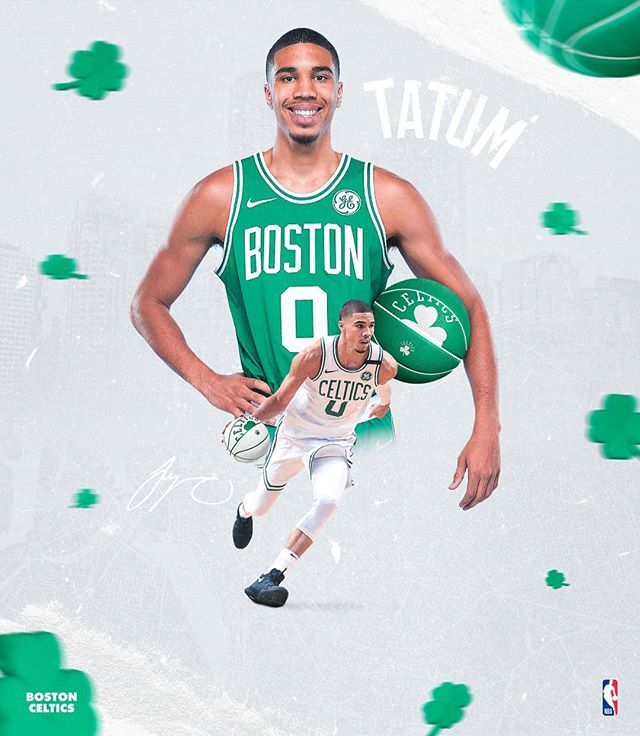 P A U L On Instagram Jay Jaytatum0 Celtics In 2020 Boston Celtics Wallpaper Boston Celtics Celtic