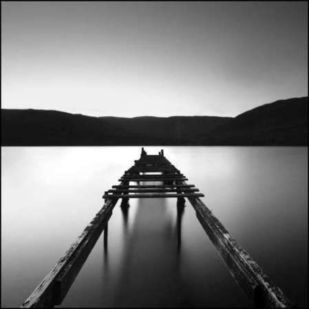 Black white landscape photography by angus clyne