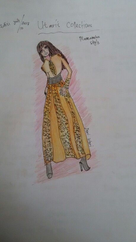 IDR 300.000  fashion design ilustrasi