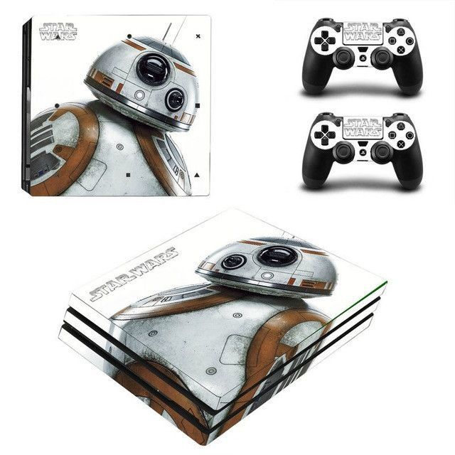Star Wars For PS4 Pro Skin Sticker Cover Wrap Console & 2PCS Controller Skin Decal For Sony Playstation 4 Pro Game Accessories