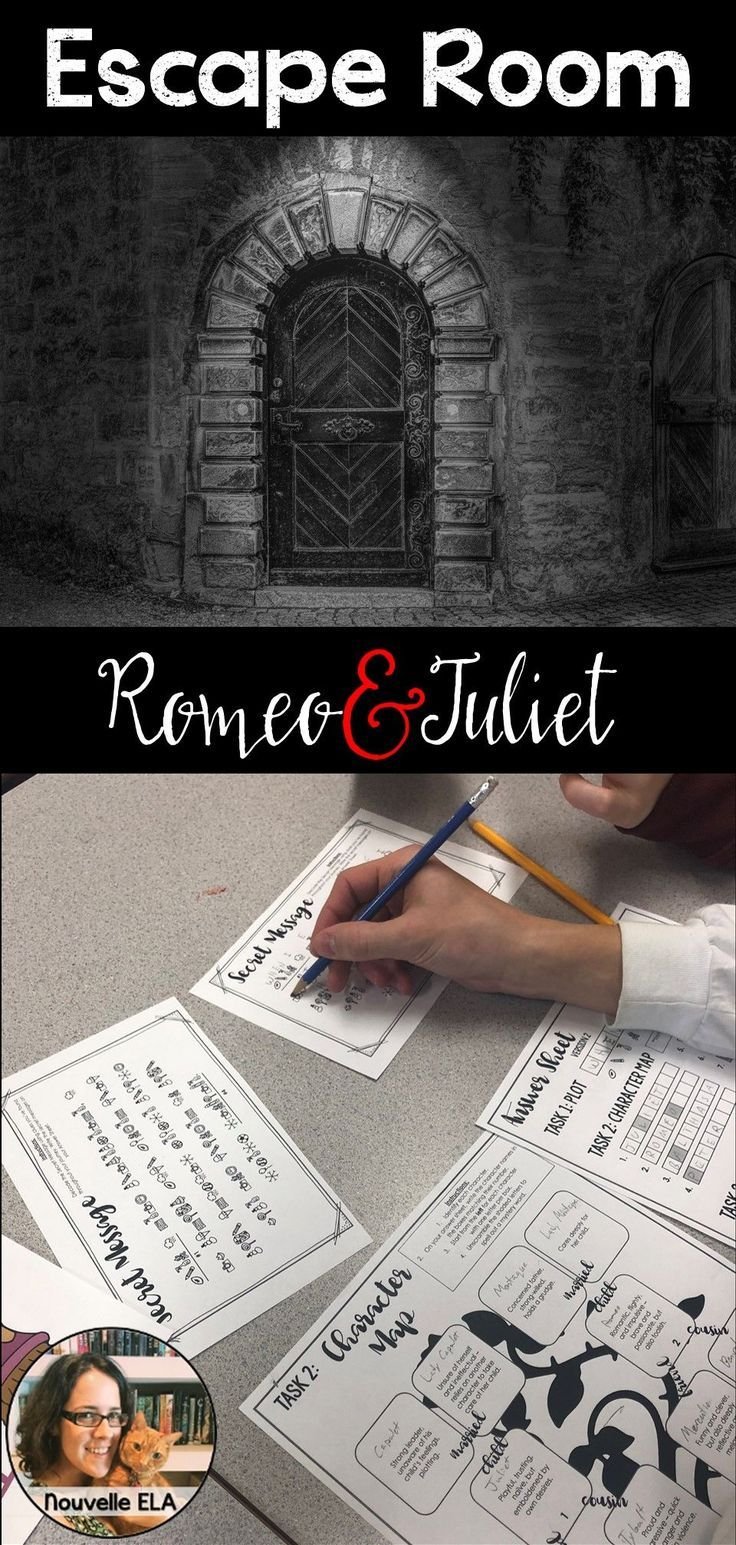 Romeo And Juliet Escape Room Review Activity Review Activities