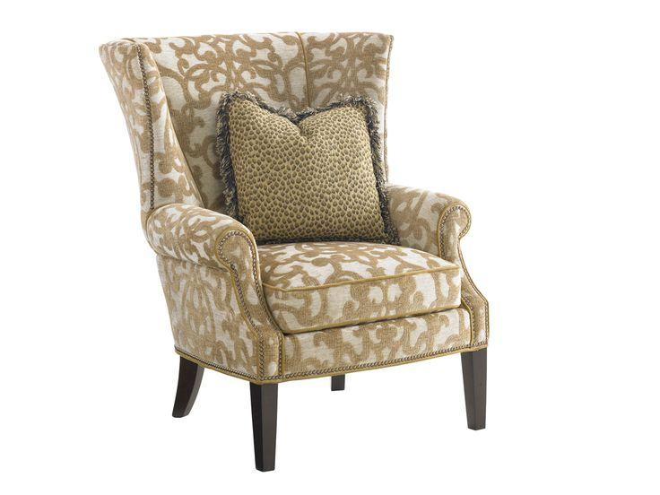 Kilimanjaro Marissa Wing Chair | Lexington Home Brands