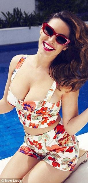 British Model Kelly Brook