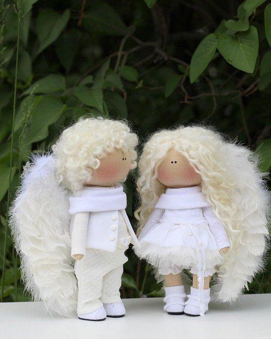 Продаются Крошки 20см #куклыручнойработы #куклыольгипономаревой #ангел Проданы