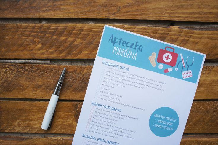 Nie wiesz, co spakować do apteczki podróżnej? Sprawdź naszą checklistę! :)